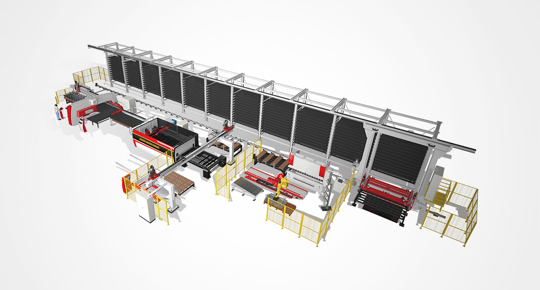 大型金属板材柔性制造系统