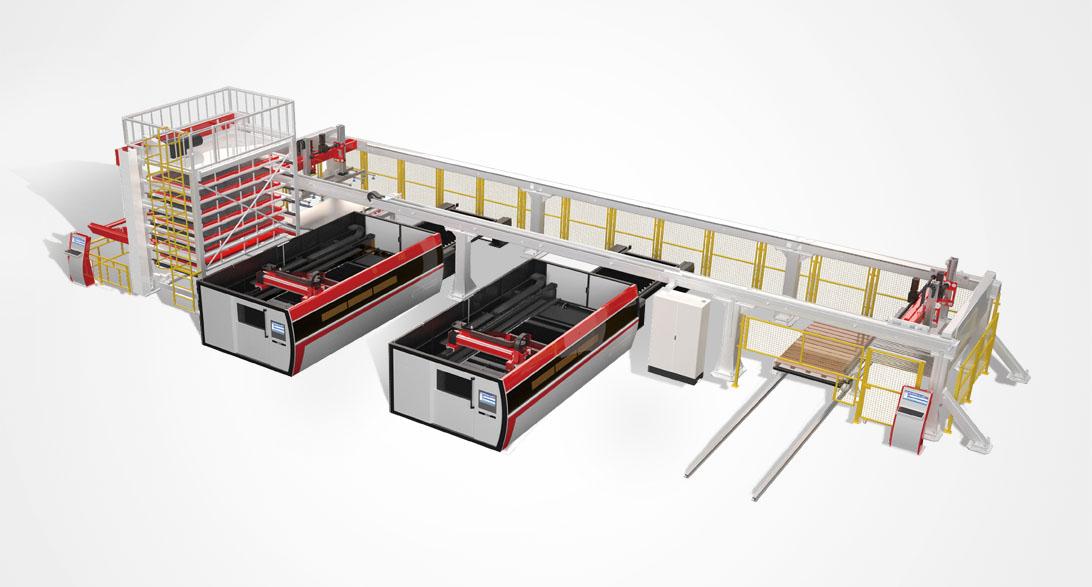 AL系列数控激光切割柔性生产线